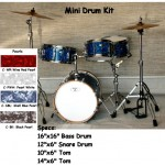 Billy Blast Mini Drum Kit