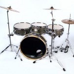 Skinny Small Drum Set Ebony