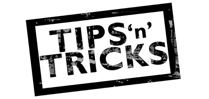 Space & Money saving Tips & Tricks