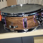 Groovy snare drum
