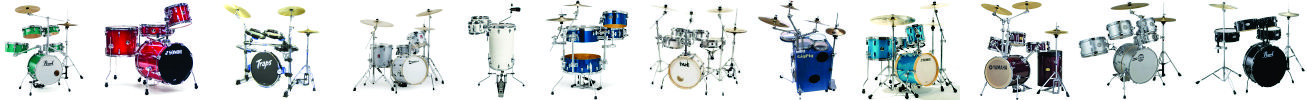 Compact, Small Size, Portable Drum Kits