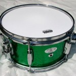 Billy Blast Green Sparkle Popcorn Snare