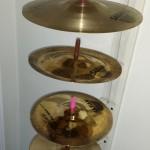 Simple and Functional DIY Cymbal Display & Storage Rack