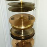 DIY Cymbal Display & Storage Rack