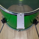 Test fit bracket - DIY Bass Drum Risers