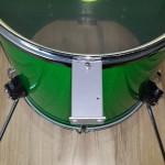 Test fit bracket - DIY Bass Drum Risers
