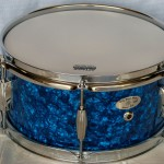 Billy Blast Blue Pearl Snare Drum