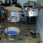 Stand up DIY Cocktail Drum Kit