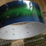 New bearing edge DIY Sparkle Finish Snare Drum