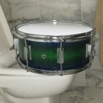 Going Potty DIY Sparkle Finish Snare Drum