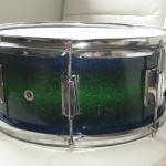 DIY Sparkle Finish Snare Drum