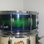 Snuggeling DIY Sparkle Finish Snare