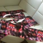 Pre-cut wraps