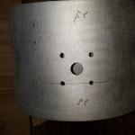 Tom mount drilled