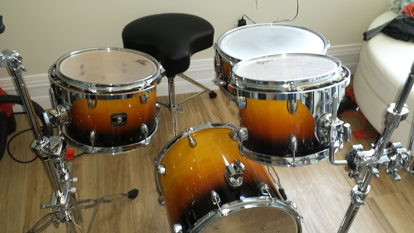 Incredible Morphing Convertible Drum Kit Compactdrums