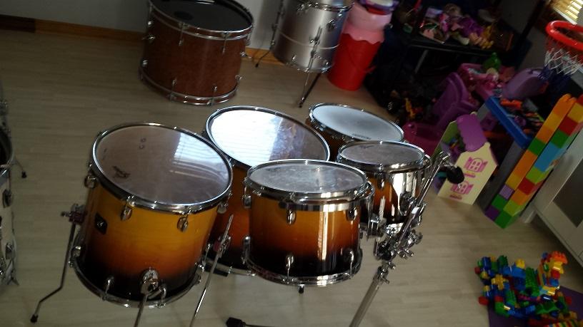 Incredible Morphing Convertible Drum Kit