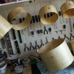 2nd gloss drying DIY Mini Drum Kit