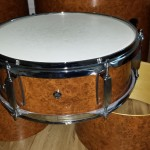 Snare drum finished