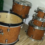 Toms and Bass DIY Mini Drum Kit