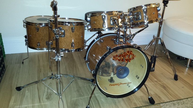 Six-Piece DIY Mini Drum Kit