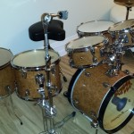 Rather elegant DIY Small Drum Kit