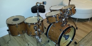 Rather elegant DIY Small Drum Kit
