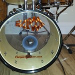Groovy Bass Drum DIY Mini Drum Kit