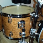 Up close DIY Mini Drum Kit