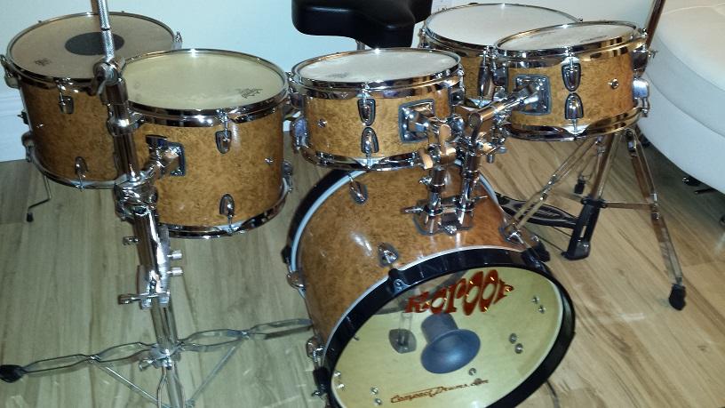 6 Piece DIY Mini Drum Kit