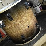 Assembly of floor tom for the DIY Jungle Kit
