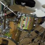 The finished Kit DIY Nano Bop Drum Kit