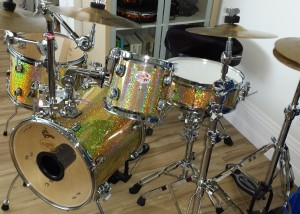 DIY Small Size Drum Kit
