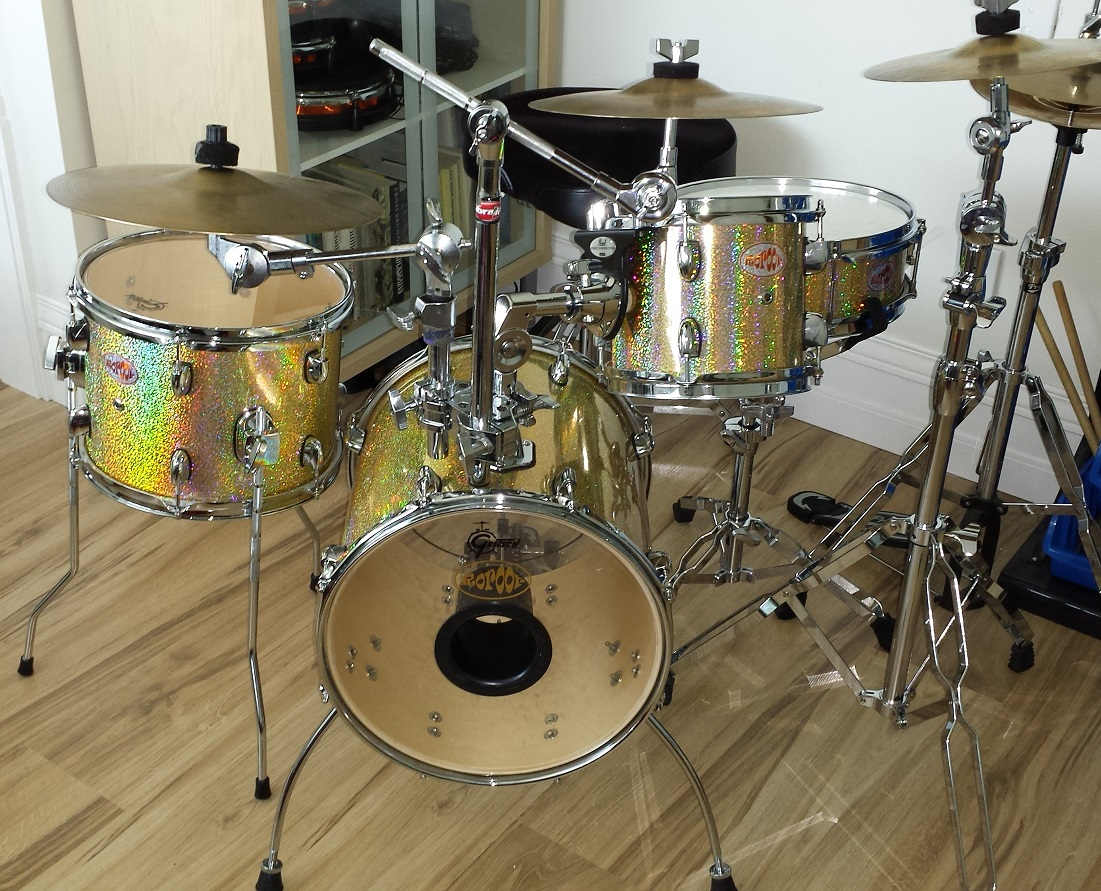 DIY Nano Bop Drum Kit,