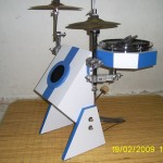 Peter Lau's Robot drum kit