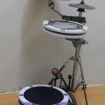 Peter Lau's Sleek mini drum kit
