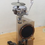Peter Lau's Triangular bass mini drum kit