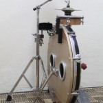 peter Lau's Sideways Slim-style drum kit