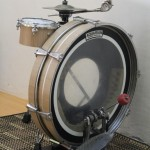 Sideways drum kit
