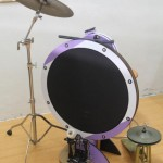 Ultra shallow bass drum by Peter Lau