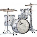 Gretsch 130 Anniversary Limited Silver Satin Flame