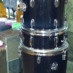Generic, Boring, Black Drum Kit Drum Wrap Instructions
