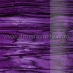 Drum Foundry Purple Strata Drum Wrap
