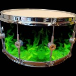 WrapEdge Green Fire Drum Wrap