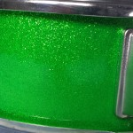 Walopus Tru-Sparkle Emerald Green Drum Wrap