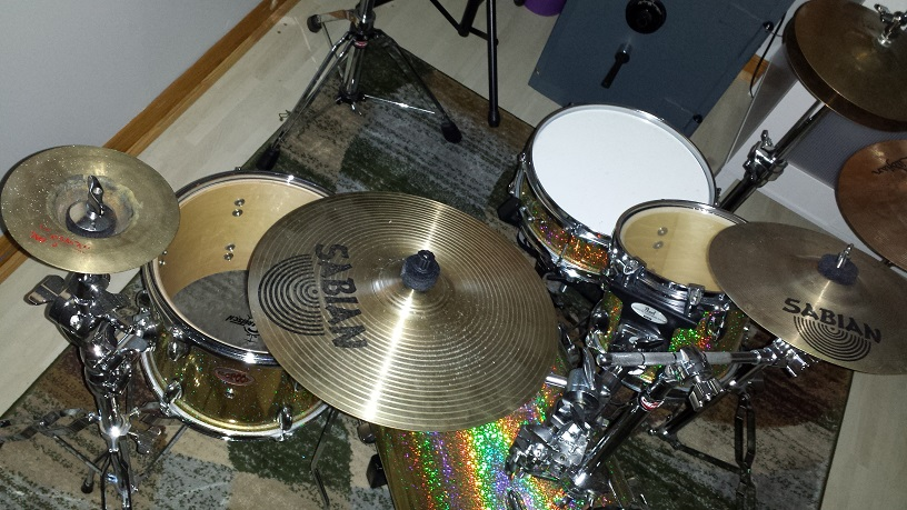 Abundance of Mini Ride Cymbals