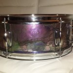 The finished snare drum