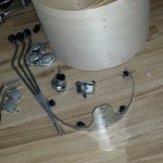 Hardware Gathered DIY Mini Bop Drum Kit