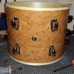 Lugs installed DIY Mini Bop Drum Kit