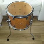 Birds eye floor tom - DIY Mini Bop Drum Kit