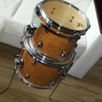 Birds eye maple toms - DIY Mini Bop Drum Kit